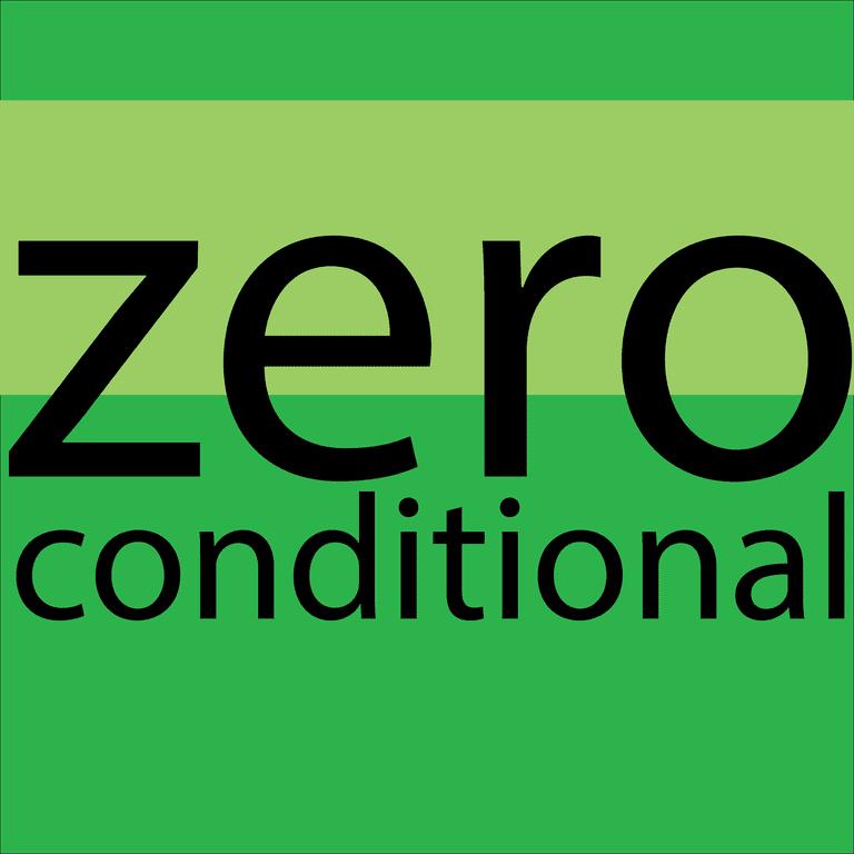 zero conditional - el condicional cero