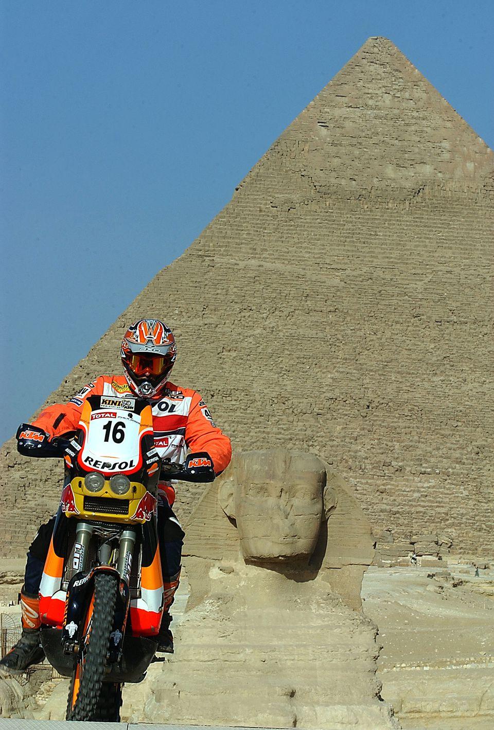 2004 Pharaons International Rally, Cairo Egypt