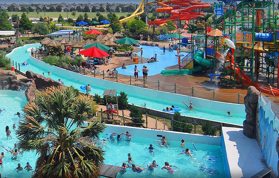 Hawaiian Falls The Colony water park in Texas