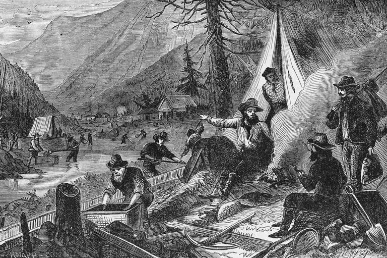 the california gold rush Emory university professor patrick allitt teaches a class about the california gold rush of the mid-1800s.