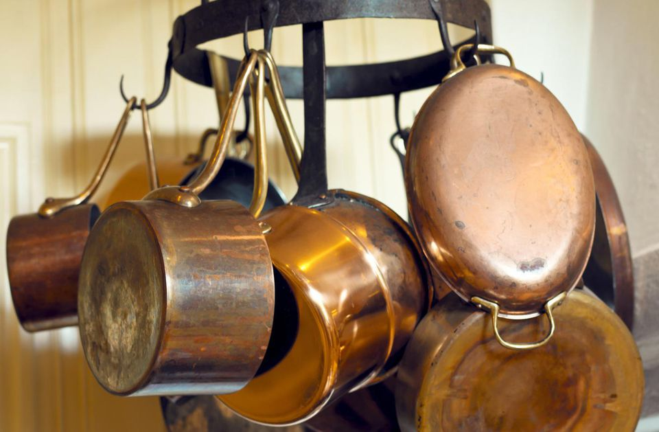 Copper Suacepans