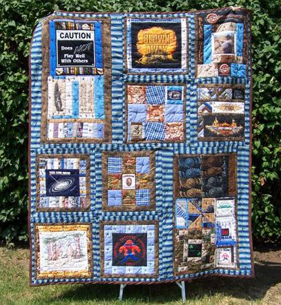 Pictures of T-Shirt Quilts Help You Design a Quilt : tshirt quilt images - Adamdwight.com
