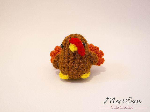 Free Turkey Amigurumi Pattern : Amigurumi turkey free crochet patterns