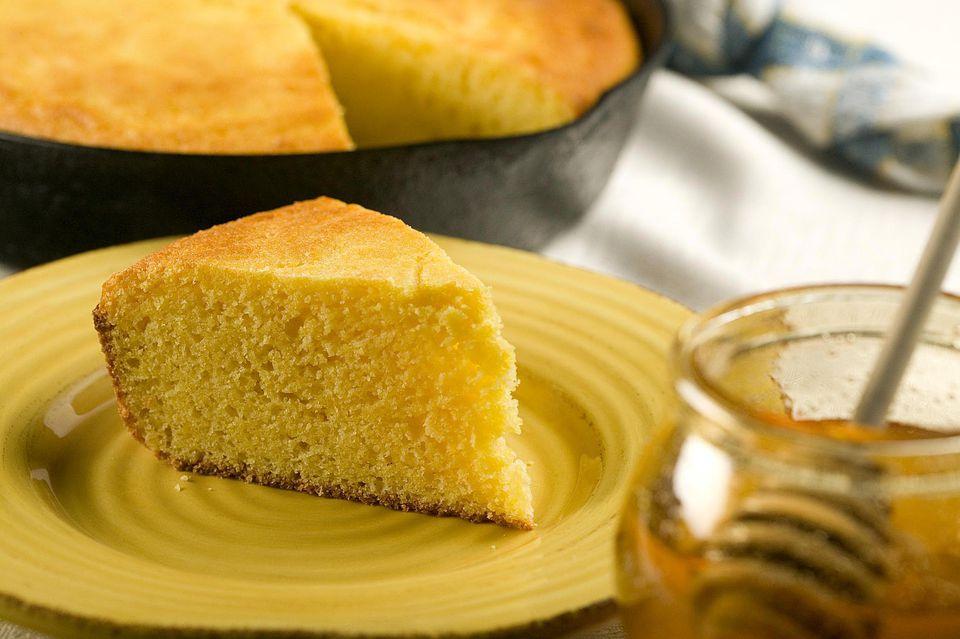 Cornbread with Honey Butter