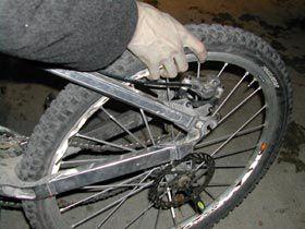 Removing a Mountain Bike Wheel
