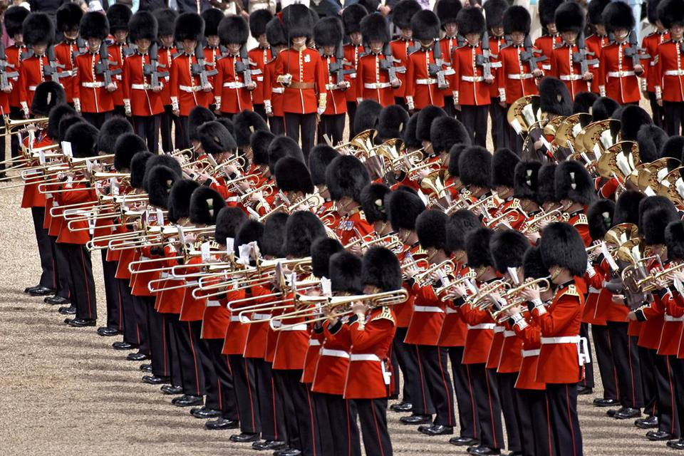 UK, England, London, Queen's Birthday Parade (Trooping the Colour)