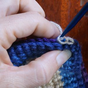 Crocheting a Slip Stitch for Joining Afghan Squares