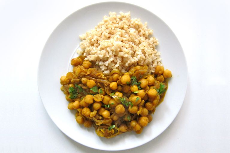 Trinidad Style Curried Chana