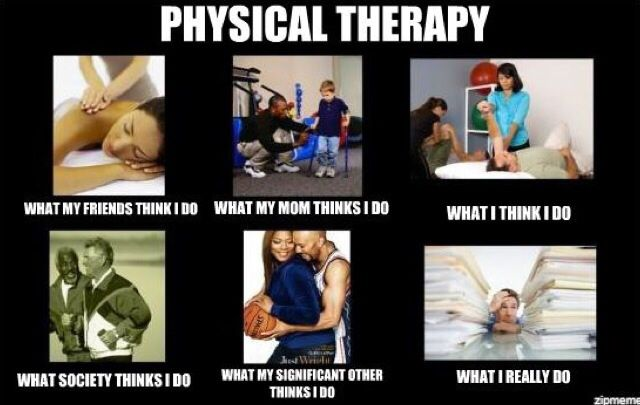 Physical therapy meme.