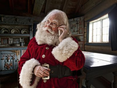 share the magic of christmas with a santa claus phone call - Free Santa Claus Pictures