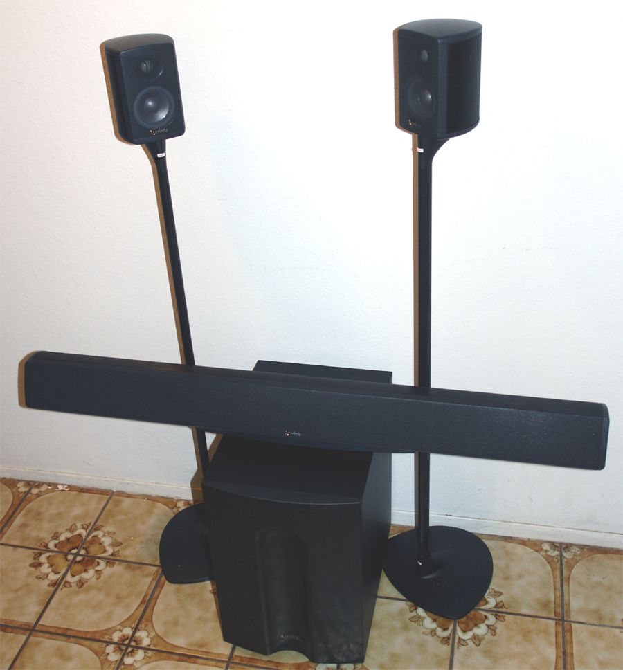 infinity total solutions speaker system review. Black Bedroom Furniture Sets. Home Design Ideas