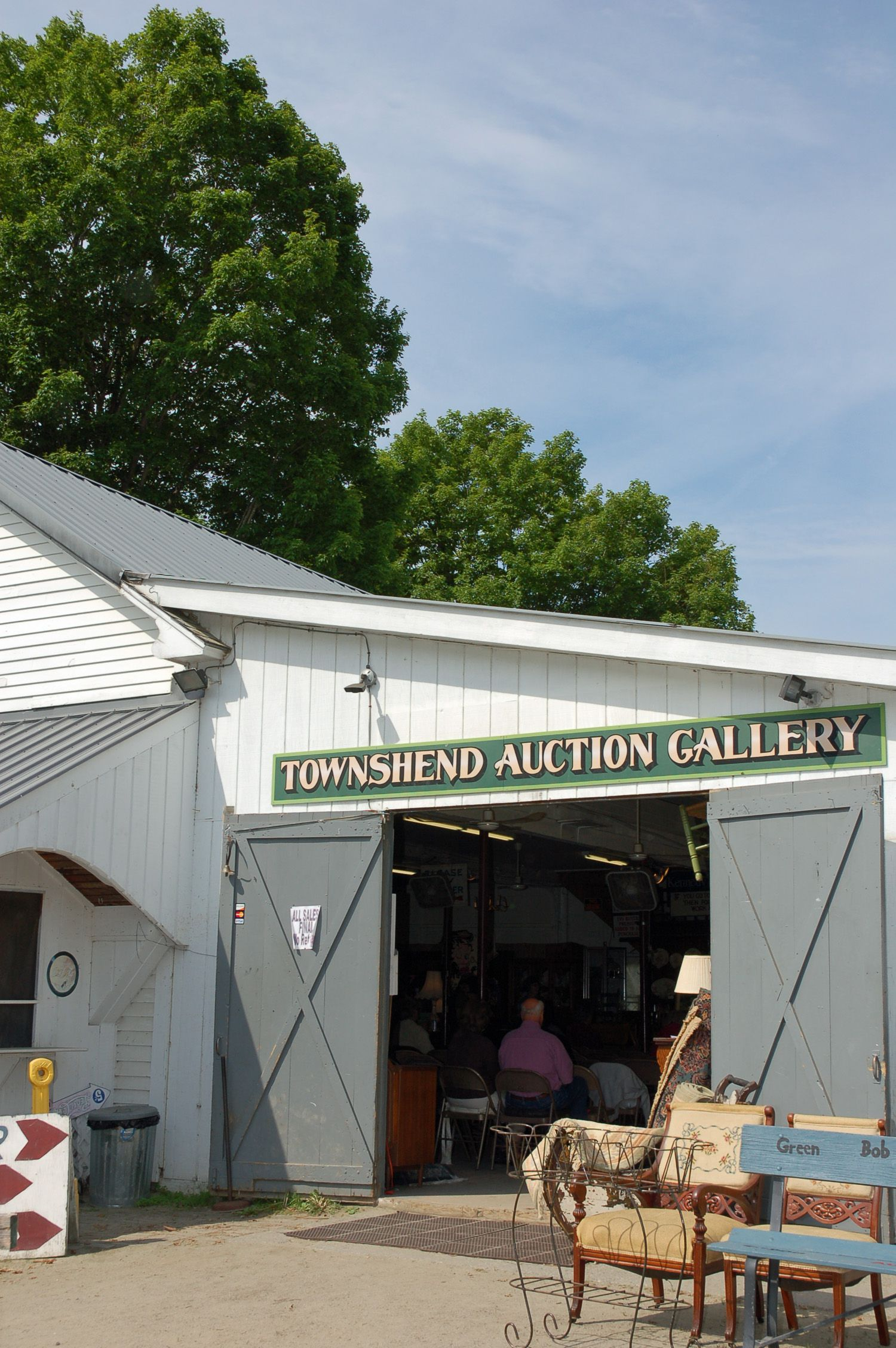 vermont auctions at townshend auction gallery
