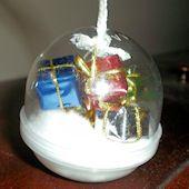 Mini Domed Ornament Craft