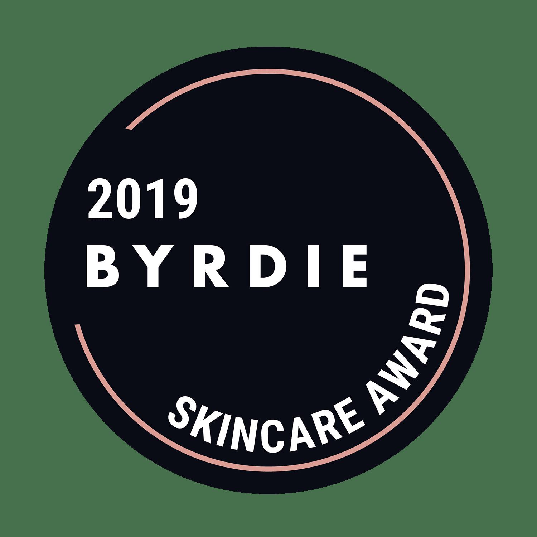 Winner - Byrdie Skincare Award