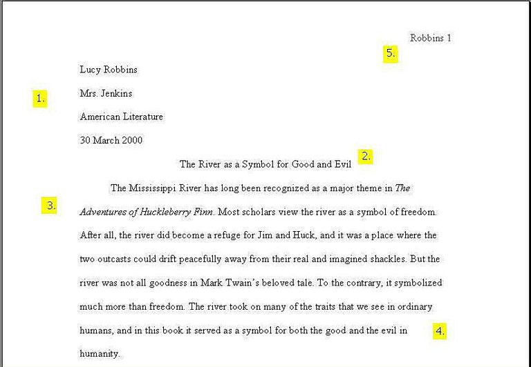 high school book report outline