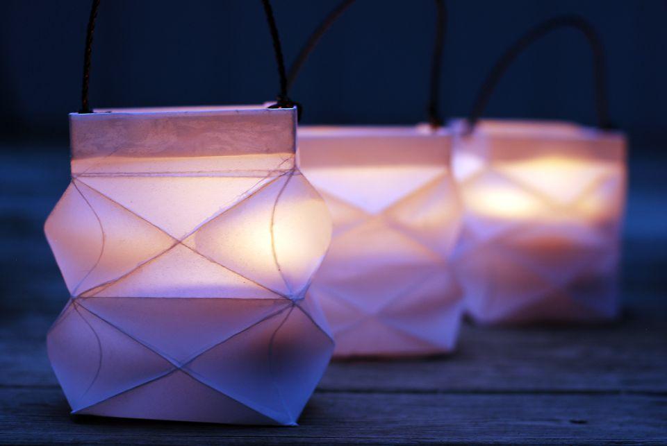 waldorf paper lantern