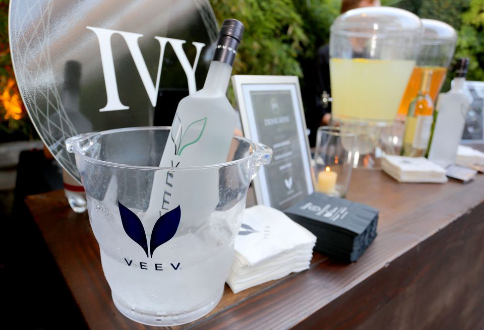 Veev Acai Spirit cocktail