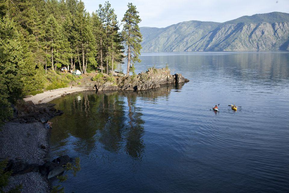 Kayaking and Camping in Idaho