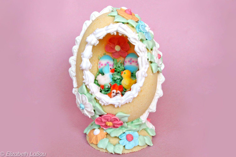 panoramic sugar easter eggs recipe