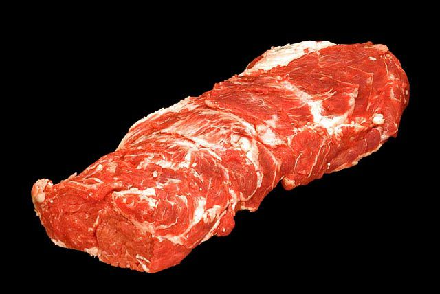 Beef chuck eye roll