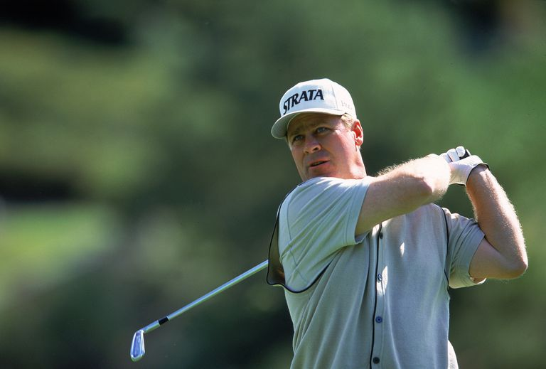 Hal Sutton during the 2000 World Match Play Championship