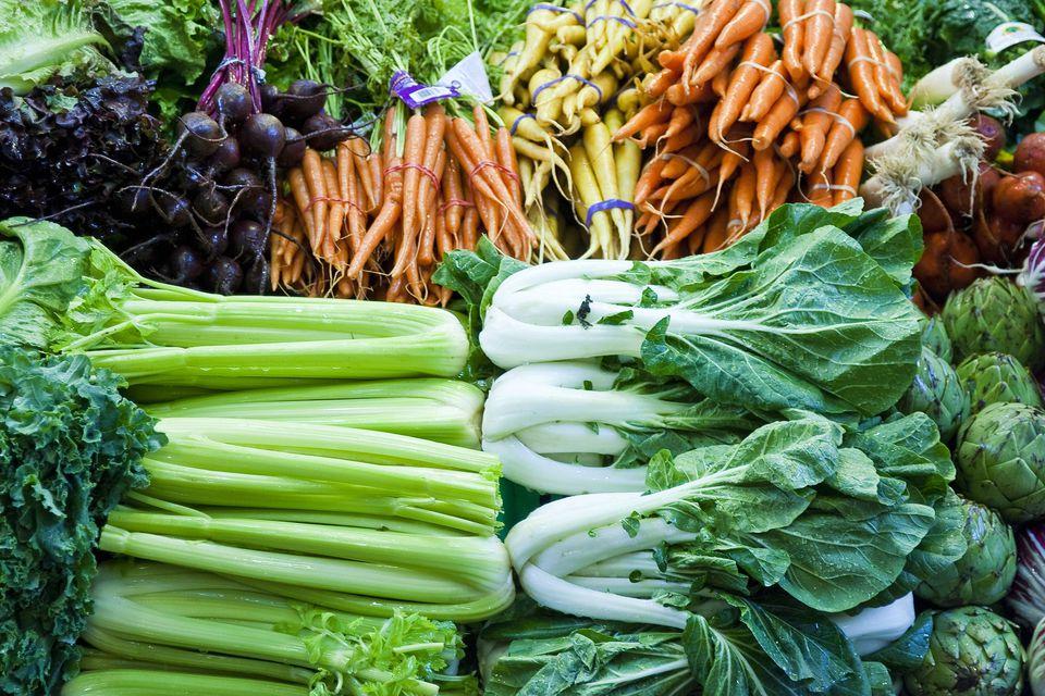 Fresh Produce at the Market