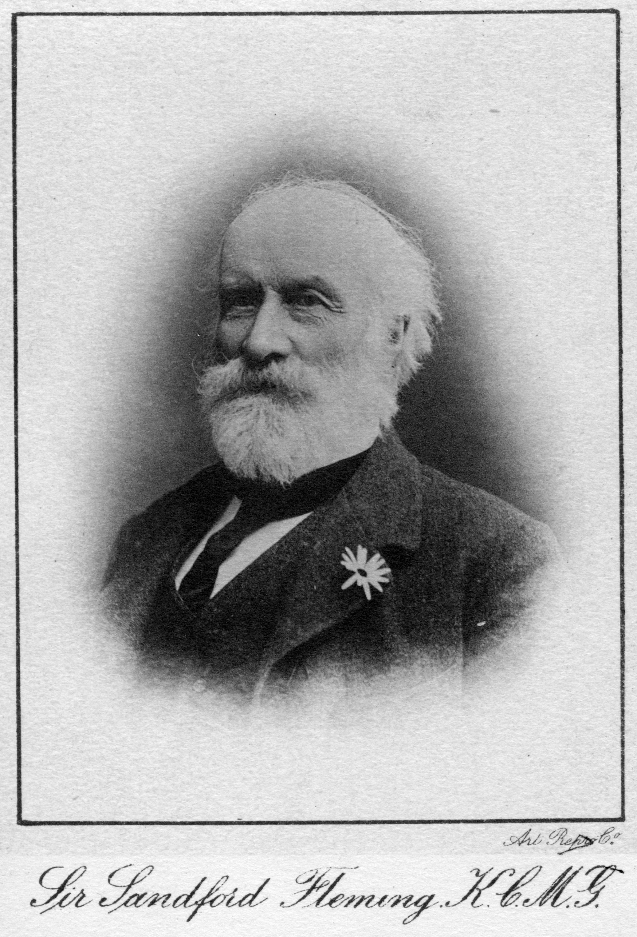 account of the life and accomplishments of sir sandford fleming A man of his time (67 k) when sandford fleming was born in 1827, the world's first railway line had just been built in great britain in the course of his lifetime.