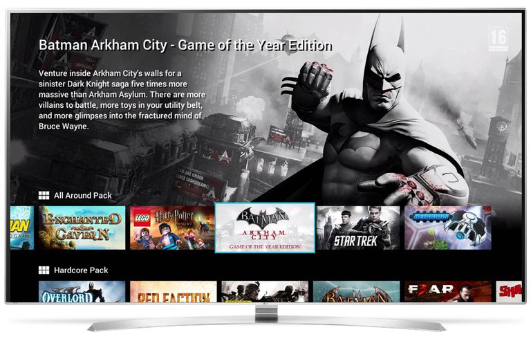 LG Smart TV With GameFly