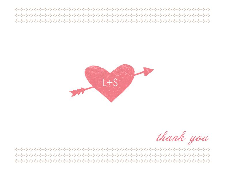 17 Gorgeous Free Printable Wedding Thank You Cards