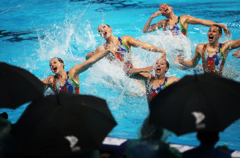 Synchronised Swimming - 16th FINA World Championships: Day Eight