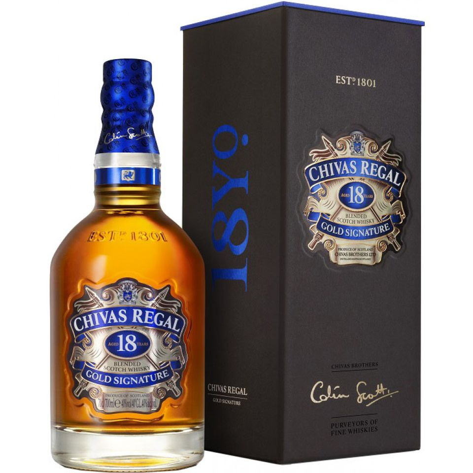 Chivas Regal Gold Signature Blended Scotch Whisky