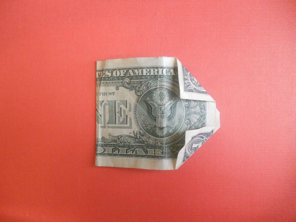 folding your dollar bill
