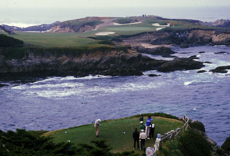 Cypress Point Country Club on the California coast