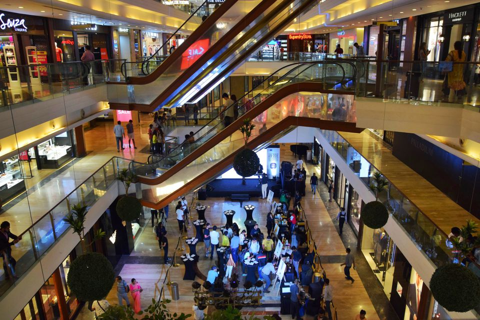 Mall in Mumbai.