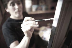 A fine art painter.