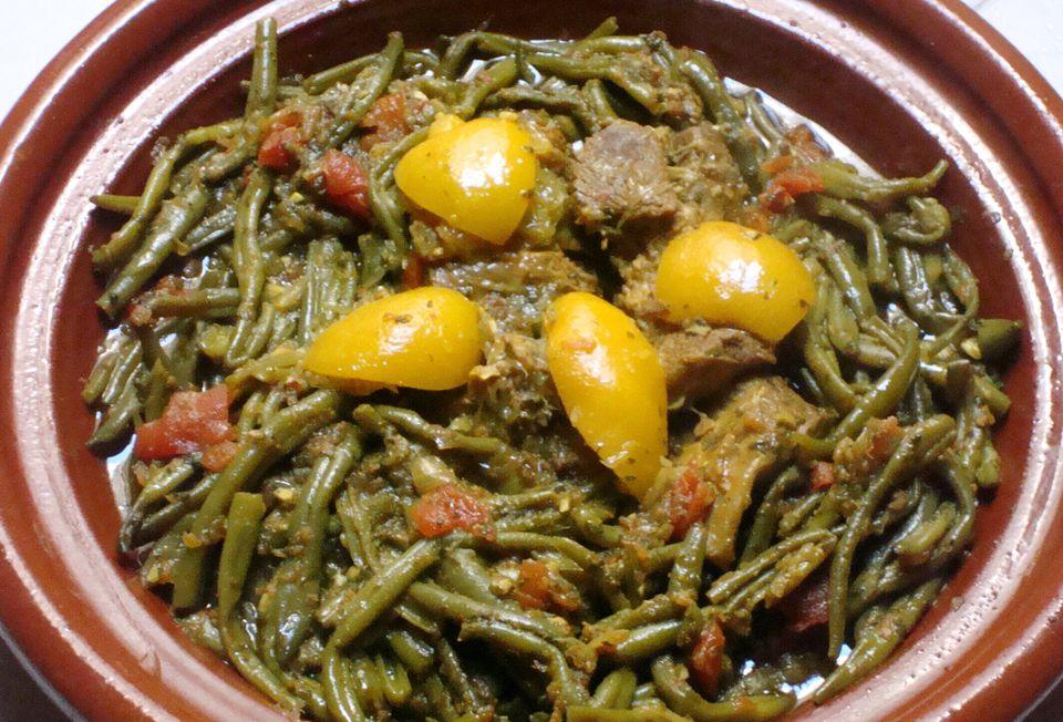 Lamb and Green Beans