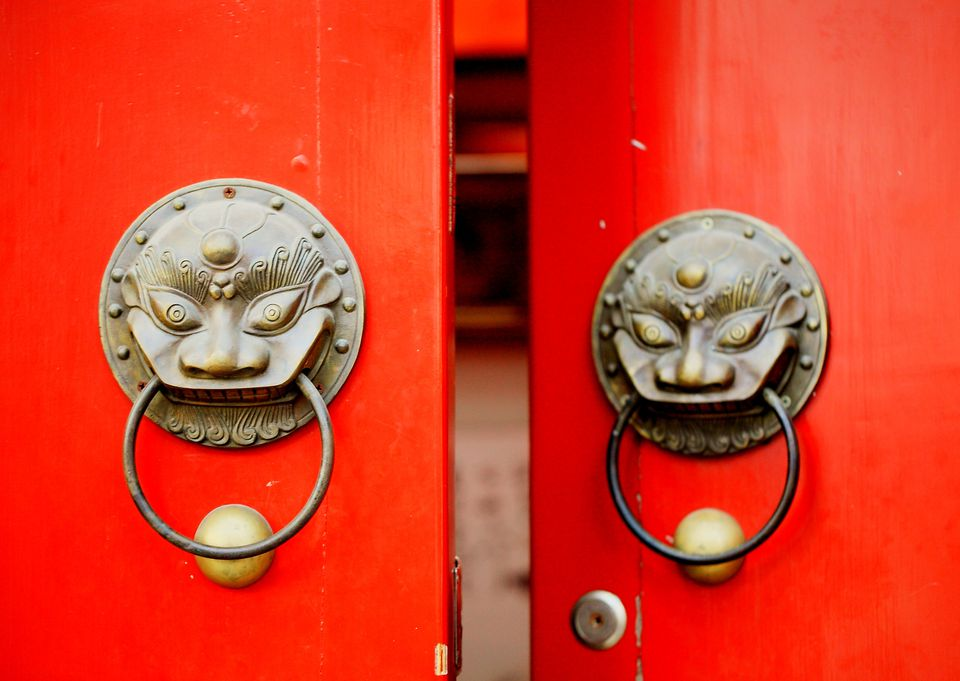 Red Front Doors. chinese red door A Picture Gallery of Red Front Doors
