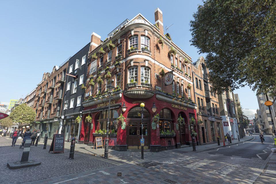 Cheap London Pub Food