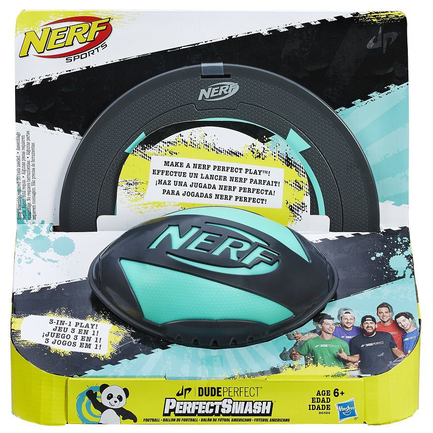 Nerf Dude Perfect Collection Perfect Smash Football