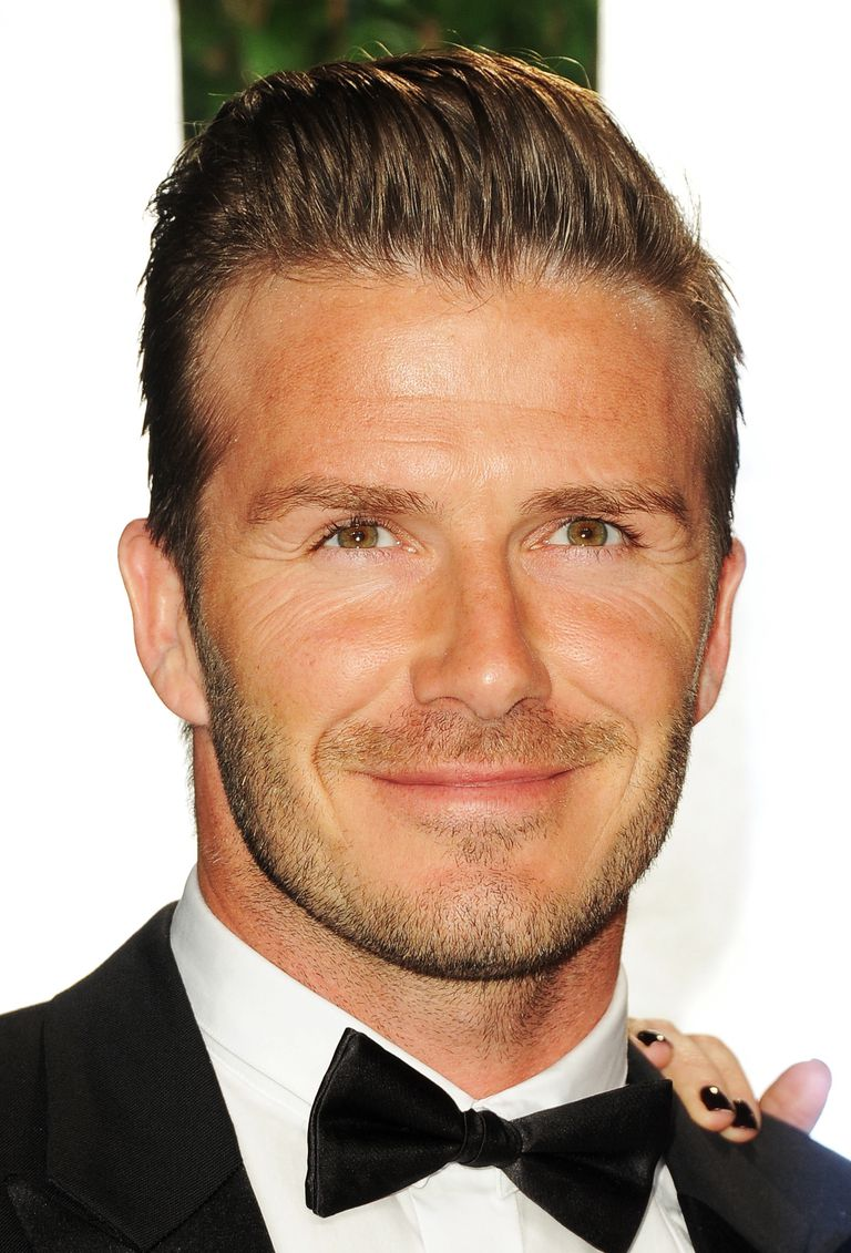 men's brushed back hairstyles - picture gallery