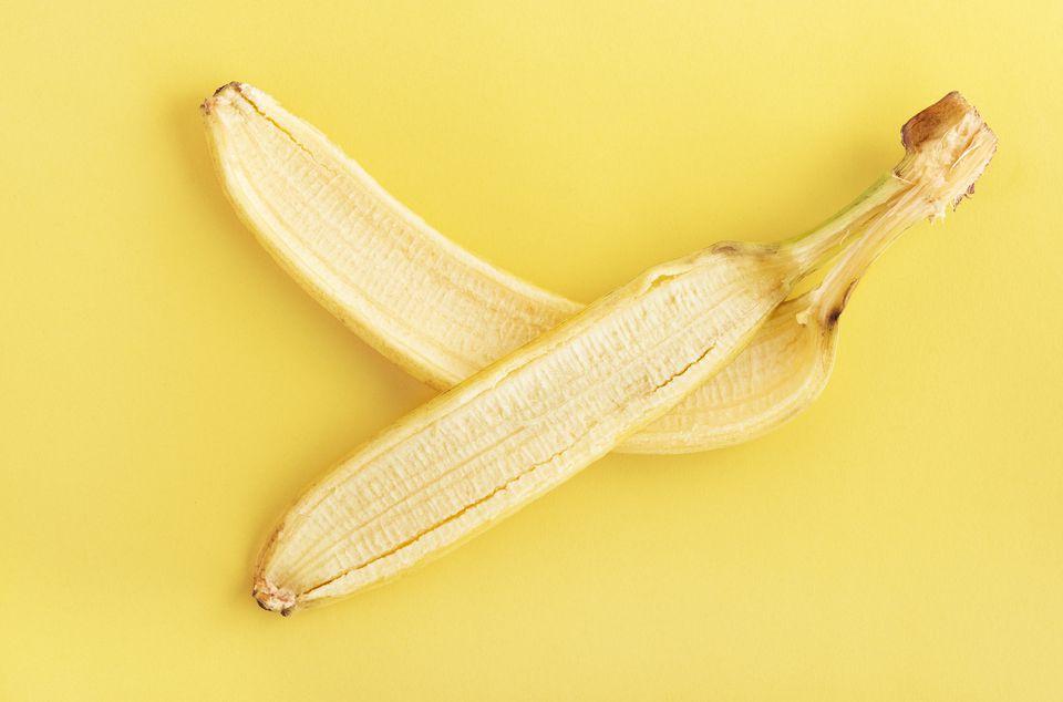 banana peels compost pile