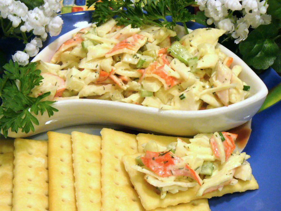 crab, salad, recipe, imitation, seafood, fish, receipt