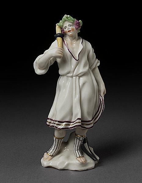 Early Capodimonte Figurine Held in the Victoria and Albert Museum in London