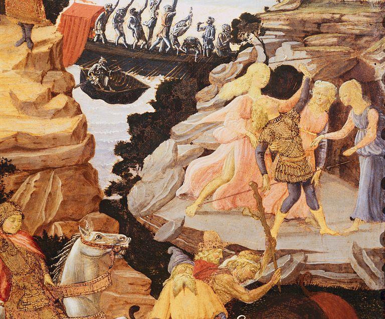Detail of scene with Argonauts