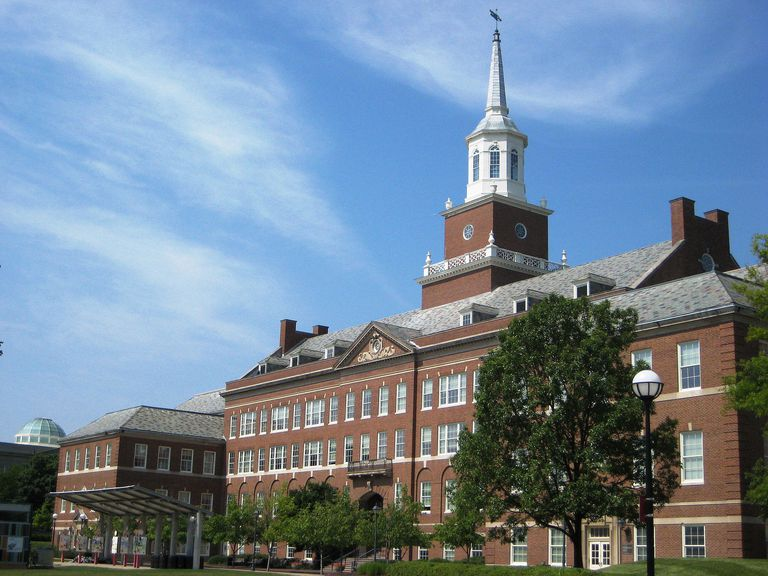 McMicken Hall at the University of Cincinatti
