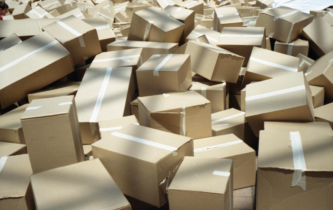 recycling cardboard boxes by selling for reuse. Black Bedroom Furniture Sets. Home Design Ideas