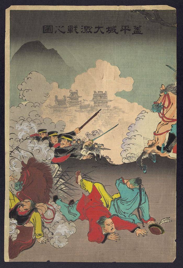 Both sides made historical and propaganda prints during the First Sino-Japanese War
