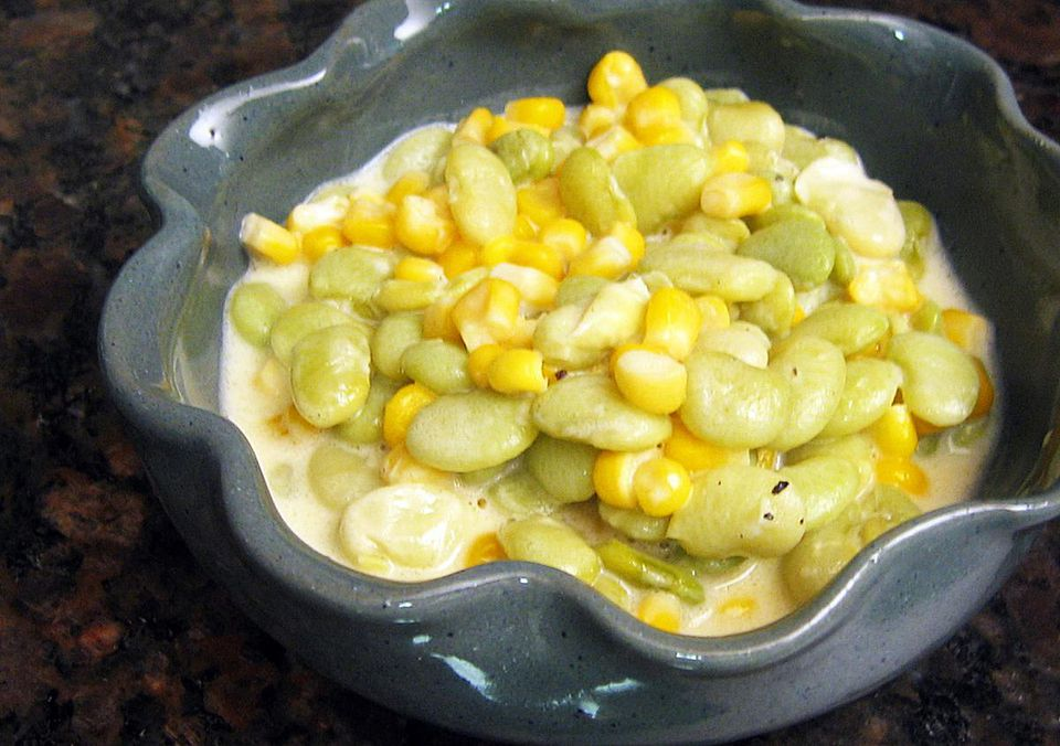 Creamy Succotash