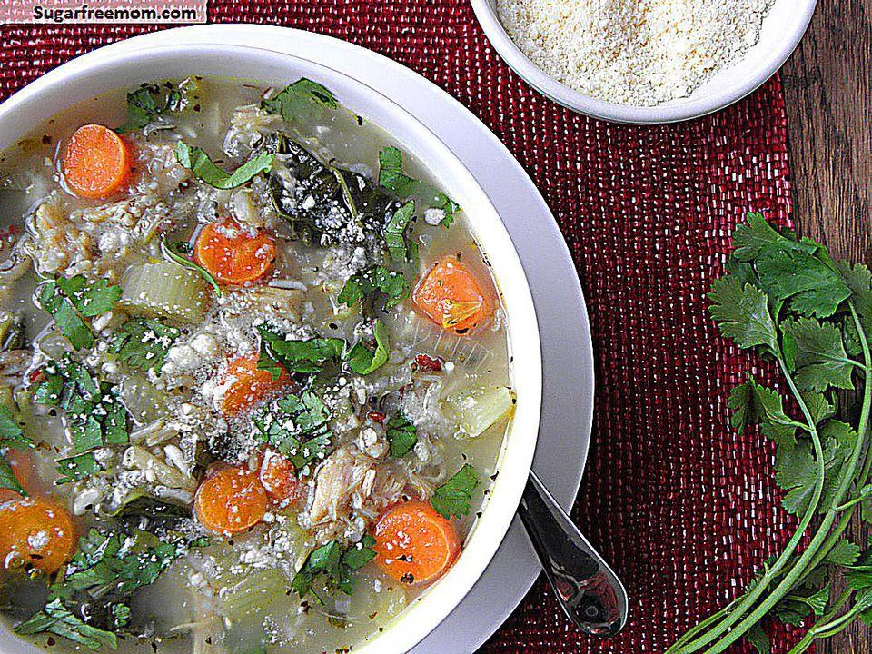 slow cooker turkey soup
