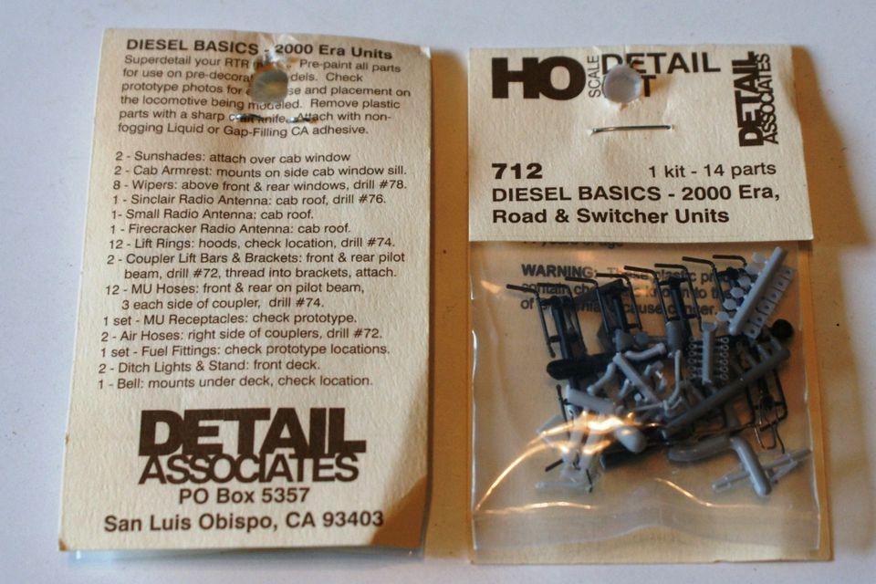 Detail Associates Parts